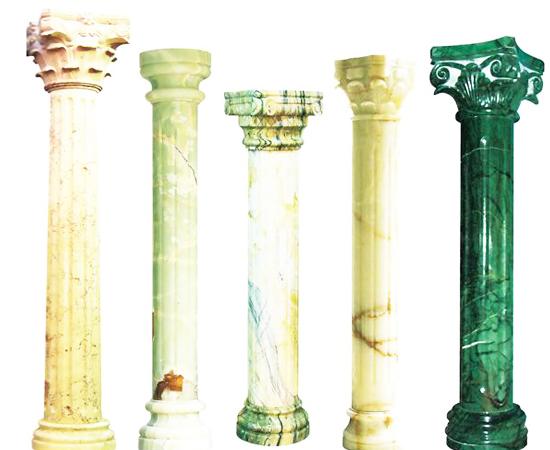 石材罗马柱